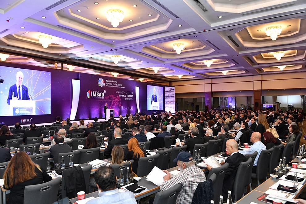 Küresel oyuncular 9. Uluslararası İnşaatta Kalite Zirvesi'nde dış ticareti konuştu